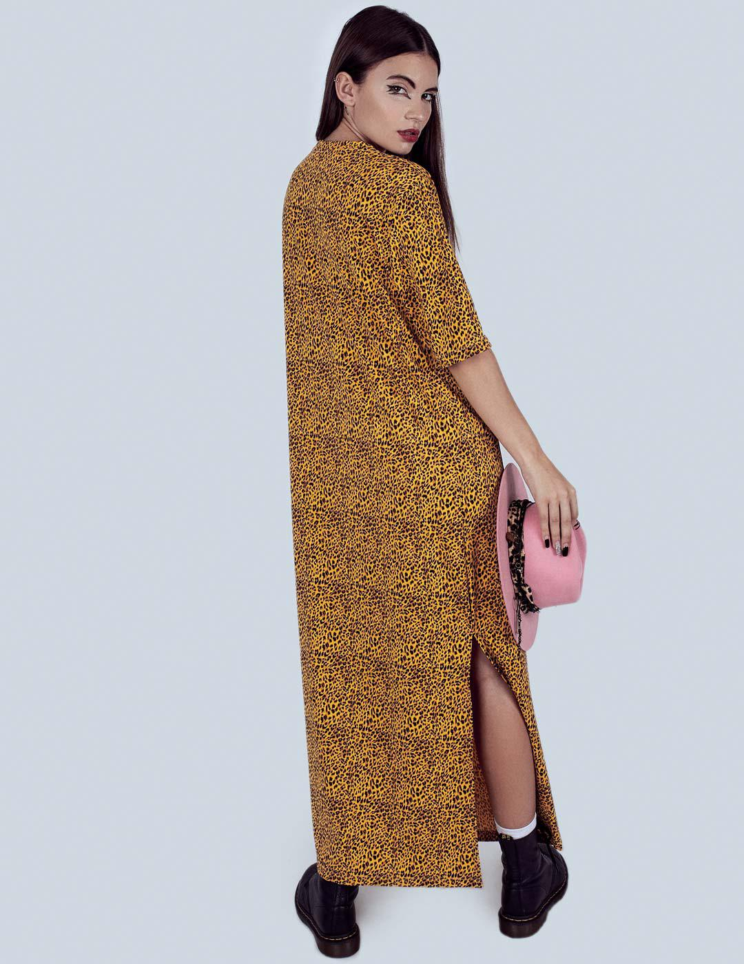 PANTHY DRESS YELLOW